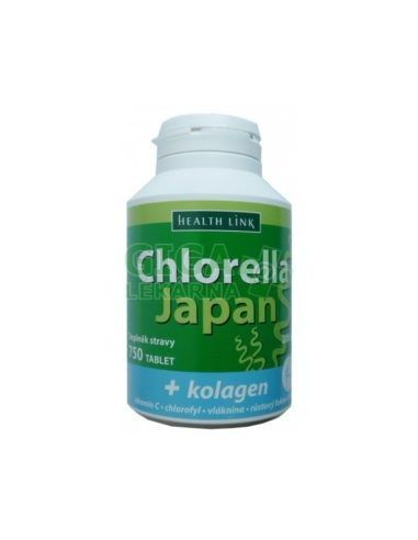 Klorella Kollageeniga 200mg/750tbl