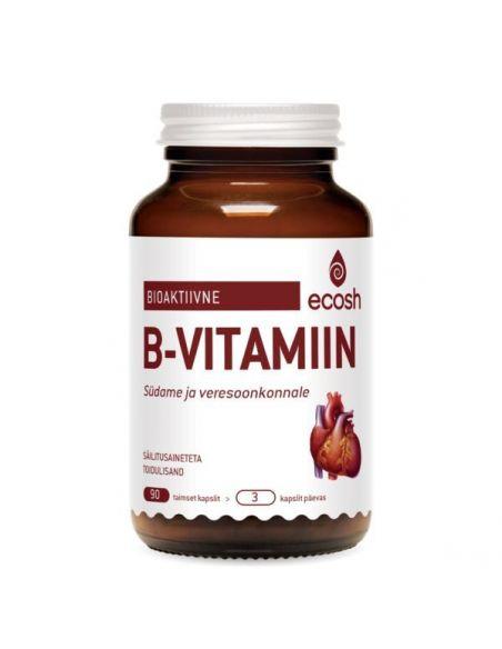B vitamiin (B1,2,3,5,N vit ja Q10)