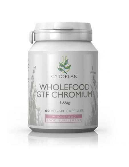 Cytoplan Wholefood GTF Chromium