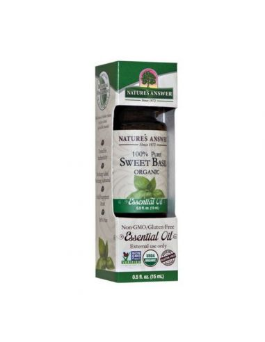 Nature's Answer Oil Organic Basil