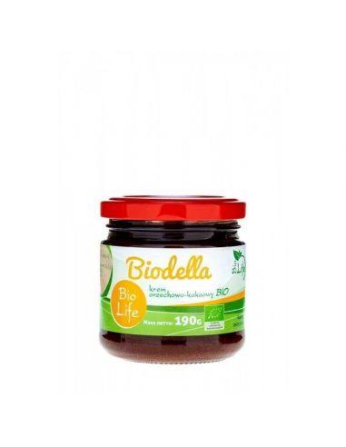 Mahe kakao- ja pähklikreem Biodella 190g