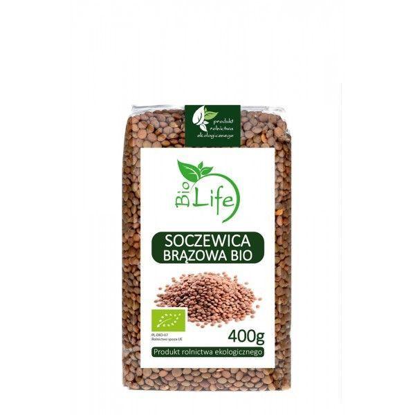 Mahe pruunid läätsed 400 g