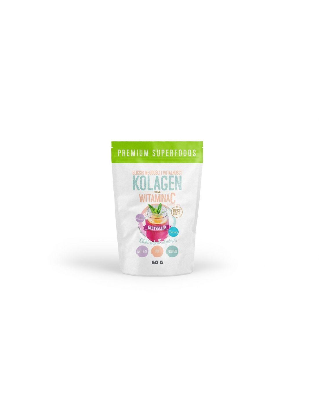 Kollageen ja C-vitamiin 60g