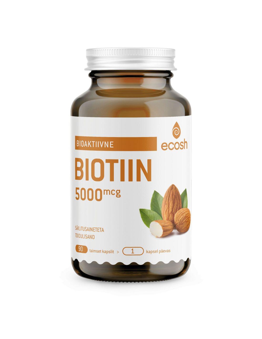 Biotiin 5000 μg- ilu vitamiin