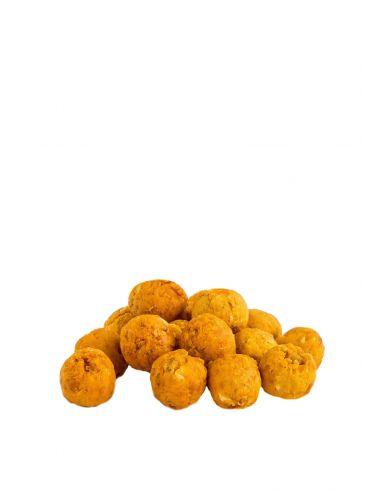 Kuivatatud mango-passionipallid 50g