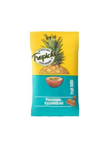 Kuivatatud ananassi-passionipallid 50g