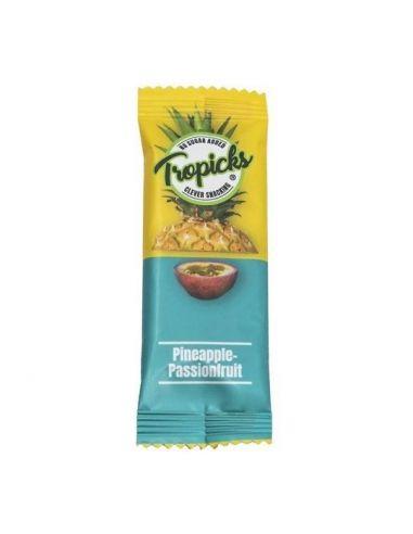 Kuivatatud ananassi-passioni batoon 20g