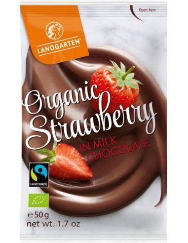Mahe Maasikas piimašokolaadis – 50g