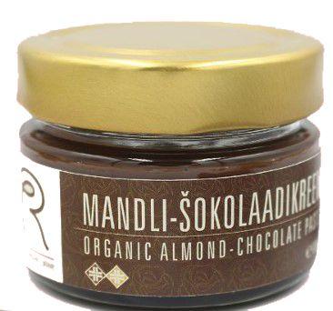 Mahe mandli- śokolaadikreem...