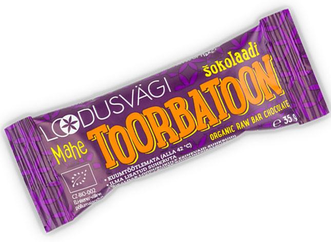 Mahe toorbatoon śokolaadi 35g