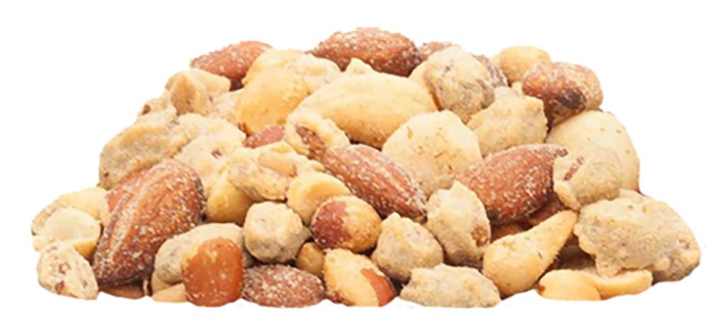 Maitsestatud pähklite segu...