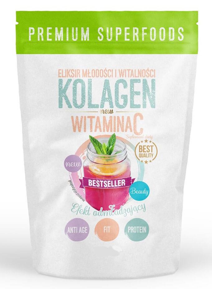 Kollageen ja C-vitamiin 250g