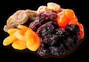 Mahe (öko) puuviljad