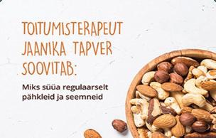 Toitumisterapeut Jaanika Tapver soovitab toituda tervislikult Bio Life - Soodsad tervisetooted
