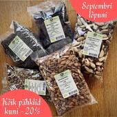 🤩Kas teadsid, et pakume ka suurpakendeid?  Hangi oma lemmikpähklid, -seemned või -puuviljad tervelt 1-kilogrammistes pakendites. Võidad kilogrammi hinnas ja tervislik snäkk ei saa sul niipea otsa!  Hetkel kõik pähklid kuni -20% soodśamalt.  Suurpakendite valiku leiad veebipoest 👉https://biolife.ee/pahklid  #biolife #parimloodusest #kergevahepala #rhumveldbaltic #kommiasemel