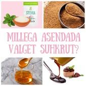 🧁Tahad ilma valge suhkruta toitu valmistada? Võimalusi on palju!  🌿Magus suhkruleht ehk stevia Kalorivaest magusat suhkrulehte ehk steviat võib samuti hea loodusliku, tervisliku alternatiivina kasutada. Doseerides tuleb meeles pidada, et see on tavasuhkrust 5 korda magusam ning ei kaota oma magusust ka kuumutades.  🥥Palmisuhkur Suhkur, mis saadakse palmiõite kristalliseerunud nektarist, sisaldab tsinki, rauda, kaaliumi ja erinevaid B grupi vitamiine. See karamellise maitsega rafineerimata orgaaniline magusaine on valgest suhkrust poole madalama glükeemilise indeksiga (GI35), mis takistab veresuhkru kiiret tõusu.   🥞Datlid ja datlisiirup Suhkruvabades küpsetistesse võib magusust lisada rosinate, kuivatatud aprikooside või datlitega. BioLife'i orgaaniline datlisiirup on kontsentreeritud mahl, mis on saadud värskete datlite  pressimisel. Magusa maitse ja tekstuuri tõttu nimetatakse seda sageli datlimeeks.  Võttes arvesse selle looduslikku päritolu, peetakse seda üheks tervislikumaks magusaineks ja suhkruasendajaks. Seda iseloomustab tugevalt pruun värv, paks konsistents ja magus karamelline maitse. See sobib suurepäraselt küpsetiste, kookide, koduste pähklite ja rosinate batoonide, magustoitude, pannkookide valmistamiseks, lisaks jogurtile ja hommikupudrule.  🍯Agaavisiirup BioLife orgaaniline agaavisiirup on looduslikult saadud magusaine. Siirupil on maitse ja tekstuur, mis on võrreldav õrna meega. Taimse päritolu tõttu kasutavad seda veganid meeasendajana. Hea lahustuvuse tõttu kasutatakse seda sageli kokteilides  magustajana. See sobib suurepäraselt saiakeste, pannkookide, magustoitude ja omatehtud küpsiste lisandiks.  #biolife #mahetooted #suhkruasendaja #stevia #palmisuhkur #agaavisiirup #datlisiirup #tervislik