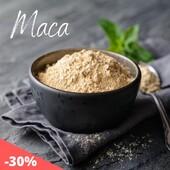 MACA pulber  🌿Maca on väärtuslik taim, millel on energeetilised ja raviomadused.   💛Rikas vitamiinide, mineraalide, aminohapete ja küllastumata rasvhapete poolest.   🏃♀️Maca on soovitatav kõigile, kes elavad aktiivset eluviisi, nii füüsilist kui ka vaimset, tagades kiire taastumise.   😊Toetab aju tööd, parandab mälu ja mõjutab positiivselt meeleolu.  Hetkel -30% 👉https://biolife.ee/toidulisandid/663-mahe-maca-pulber-100g.html  #biolife #mahetooted #macapulber #maca #tervislik #looduslik #öko