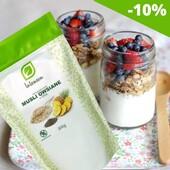 Müsli chia seemnetega🤩  🍍Gluteenivabad kaerahelbed, millele on lisatud chia seemneid ja kuivatatud puuvilju. Tänu sellele iseloomustab seda kõrge kiudainete sisaldus, mis toetab seedesüsteemi.  🕺Helbed on ka rikkalik valguallikas, mis tagab lihaste massi ja tervete luude säilimise.  🥛Piima või jogurtiga kombineeritult on see toitev eine.  Vaata lähemalt siit👉https://biolife.ee/supertooted/796-muesli-gluteenivaba-chia-seemnetega-200g.html  #biolife #mahetooted #müsli #chia #tervislik #gluteenivaba