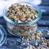 Mahe salatiseemnesegu 🥗  Lisa mõnusa suvise salati sisse salatiseemnesegu. Grilli kõrvale ideaalne. 😋  👉https://biolife.ee/mahe-oeko-seemned/25-mahe-salatiseemnesegu-rhumveld-baltic-oko-bio-bio-life-organic.html  #biolife #mahetooted #maheseemned #seemned #tervislik #seemnesegu